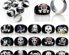 wholesale-100pcs-Mixed-lots-Resin-font-b-Rings-b-font-Lucite-font-b-skull-b-font