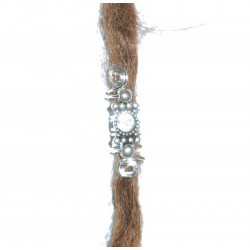 Brow crystal drop bohemian dread bead