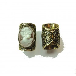 Arwen renaissance baroque dread bead