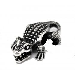 crocodile dread bead