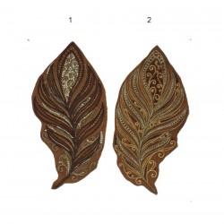 """15 cm / 6"""" Feather native  patch applique"""