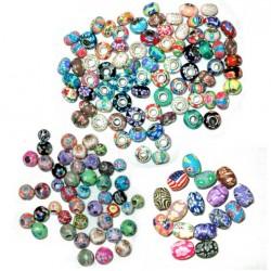 5 Colorfull dread bead