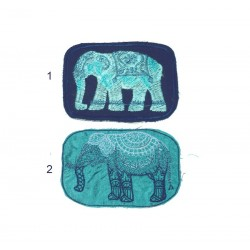 "10cm 4"" Ganesha elephant patch"