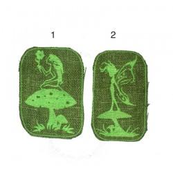 "4"" / 10cm Fairy toadstool mushroom patch"