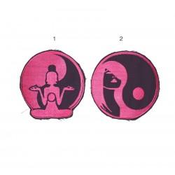 """15cm , 6"""" Yin yang patch"""