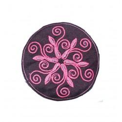 "10cm / 4"" Flower of life geometry mandala patch"