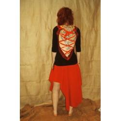 S Doilie's crochet bohemian dress