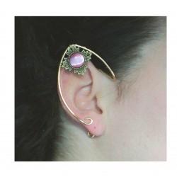 Select color: bronze filigree fairy elven ears