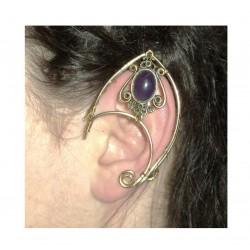Dragon amethyst brass fairy elven ears