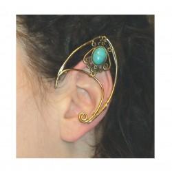 Amethyst brass fairy elven ears