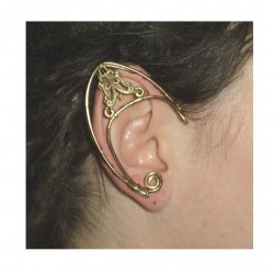 Bronze brass elven ears