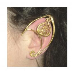 Golden brass elven ears
