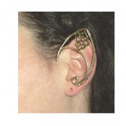 Bronze knot brass elven ears