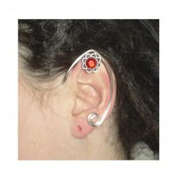 Amethyst silver fairy elven ears