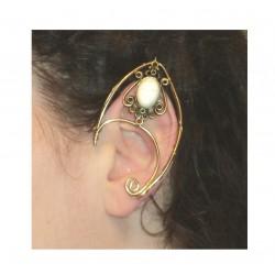 Turquoise brass fairy elven ears