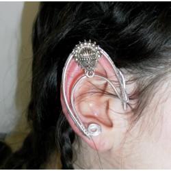 Silver fairy elven ears