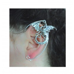 Red silver fairy elven ears