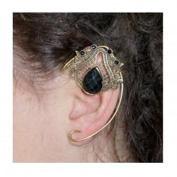 Red brass fairy elven ears
