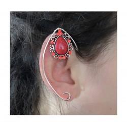 Blue silver fairy elven ears