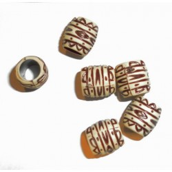 Chinese dreadlock bead