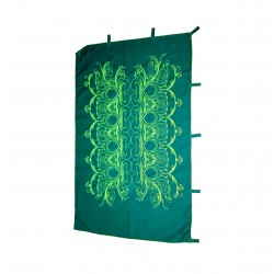 """130cm / 51"""" Deco wall hanging backdrop UV Fluo psychedelic"""