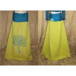 Tree of life leaves woodland long skirt