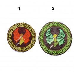 """17cm / 7"""" Celtic fairy elven patch"""