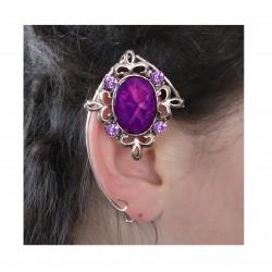 Purple silver fairy elven ears
