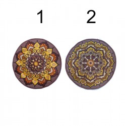 "17cm 7"" Geometry, lotus,..."