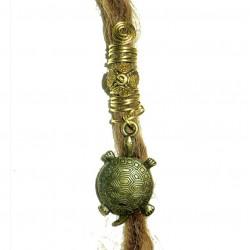 Turtle Tortoise dread bead
