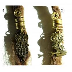 owl dread bead