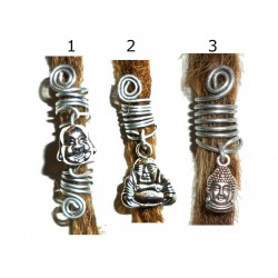 buddha dread bead